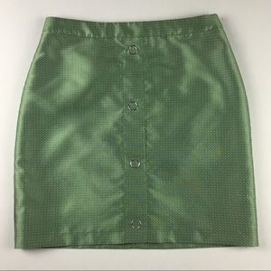 H&M Women's Size 10 Green Pencil Skirt.